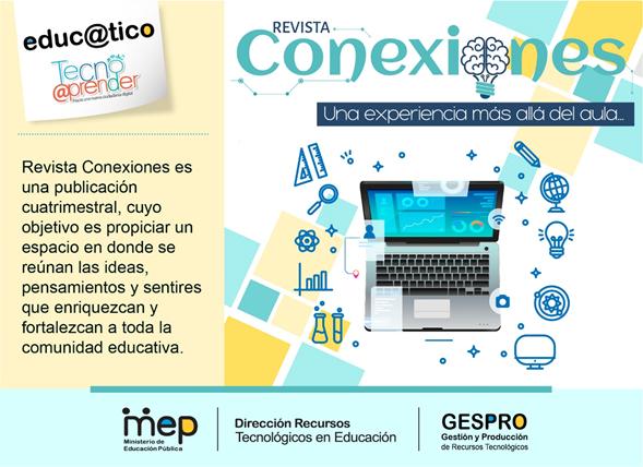 Revista Conexiones: Una experiencia más allá del aula, 2° edición 2021.