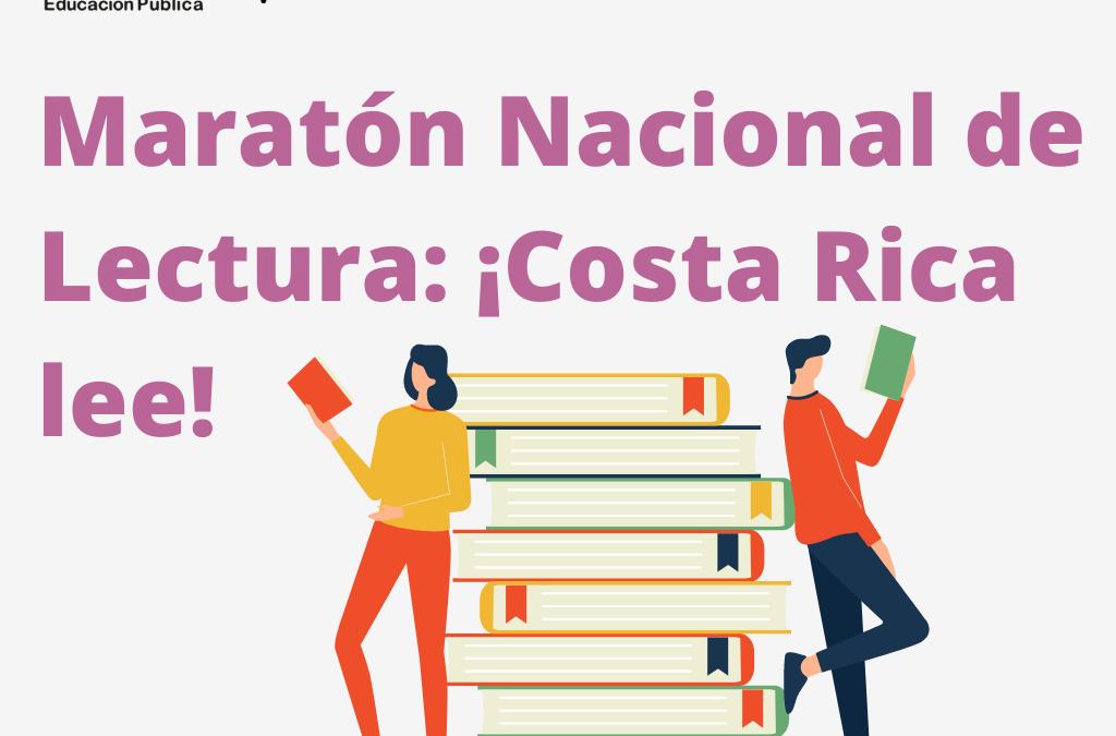 Maratón Nacional de Lectura: ¡Costa Rica lee!