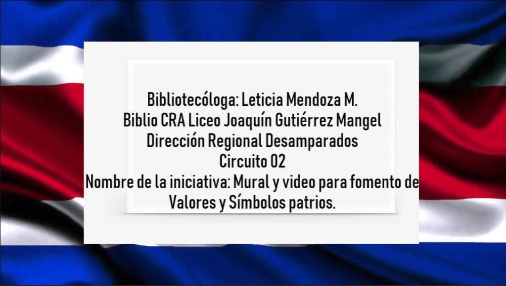 Bicentenario en el Biblio CRA Liceo Joaquín Gutiérrez Mangel