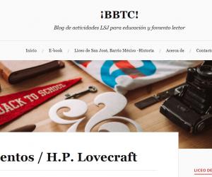 ¡BBTC! Blog de actividades LSJ para educación y fomento lector