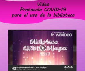 Protocolo COVID-19 para el uso de la biblioteca CINDEA de Bijagua 2020