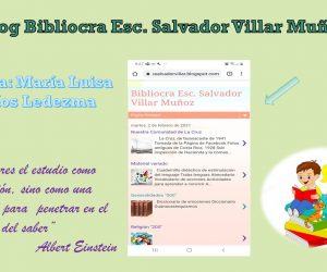 Blog del Bibliocra Esc. Salvador Villar Muñoz